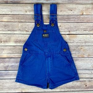 OshKosh B'gosh Vintage Blue Jean Overalls Size 4